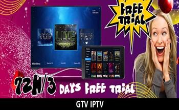 GTV IPTV Free trial