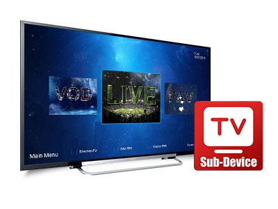 Multiple device IPTV